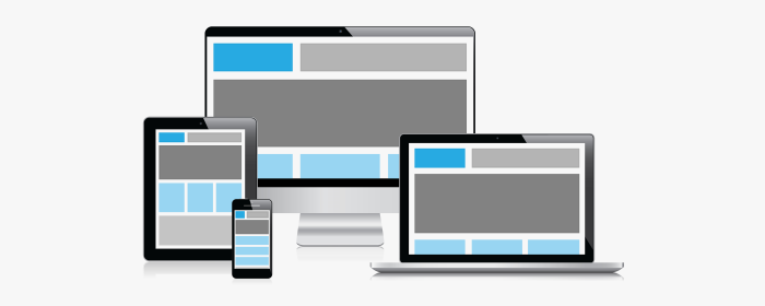 Responsive design and modern websites
