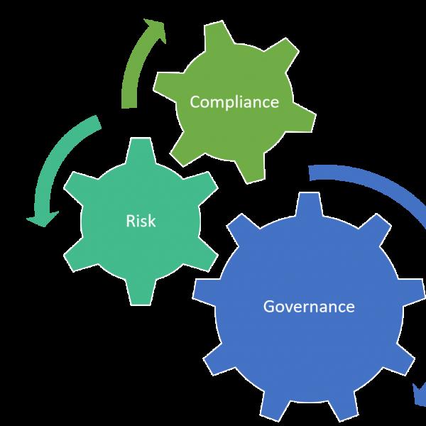 الادارة والتحكم بالمخاطر والامتثال
