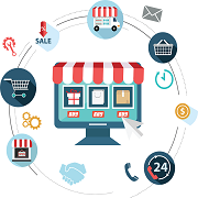 حلول منصة التجارة الإلكترونية